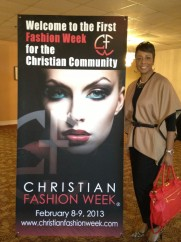Christian Fashion Week what an awesome display of fashions
