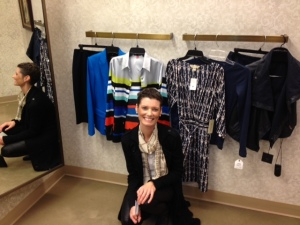 Personal shopping for this young lady, the blue selections brought out her eyes. Clothes by Nordstrom
