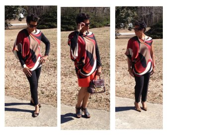 One of my signature tops. Very versatile and chic!
