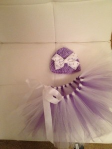 I so enjoyed making this little TuTu!