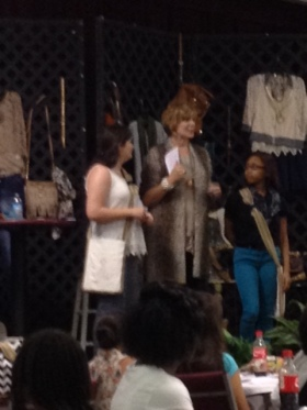 Shari Braendel founder of Reveal Your Dignity with the first 2 JR Fashion Stylist!