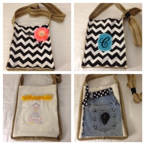 JR Stylist kit bags! Be creative by adding your personality and swag to create 4 looks-n-1 bag!