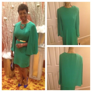 GreenCapeletDress
